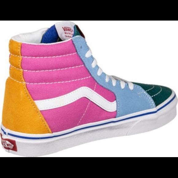 Vans Sk8 Hi Colorblock Skate Shoe Yacht